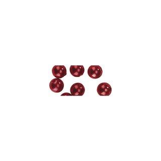 Perles en cire, 6mm ø<br />rouge,