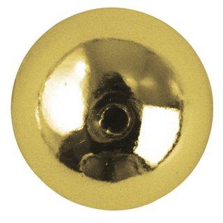 Perles rondes en plastique, 6 mm ø<br />or