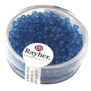 Rocailles, 2,6 mm ø, transparentes<br />turquoise