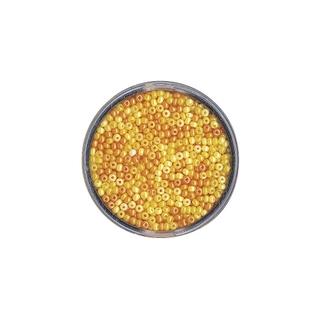 Rocailles, nacrees, 2,6 mm ø<br />Teintes jaunes