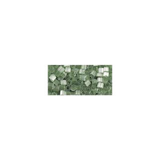 Chevilles en verre, transparent, 2x2 mm<br />vert antique
