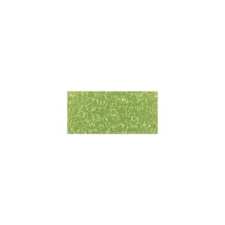 Rocailles, transparentes, 2,6 mm ø<br />vert clair