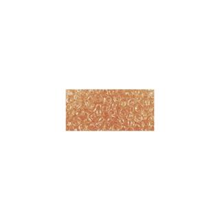 Rocailles, transparentes, 2,6 mm ø<br />orange