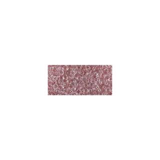 Rocailles, transparentes, 2,6 mm ø<br />rose ancien