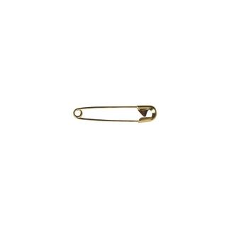 Epingle de sûrete, 34 mm, 0,80 mm ø, boîte 50g - 115 pces<br />or