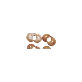 Rocailles papillon, 2x4 mm<br />rose anglais