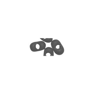 Rocailles papillon, 2x4 mm<br />noir mat