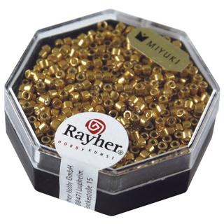 Delica-rocailles, 2,2 mm ø metallic<br />or