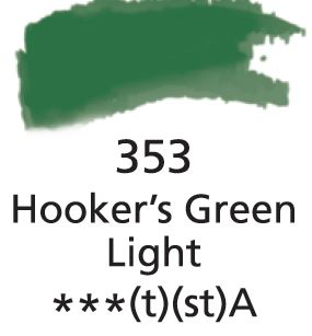 Aquarelles Extra-Fines Artist's<br />Hookers Green Light (A)
