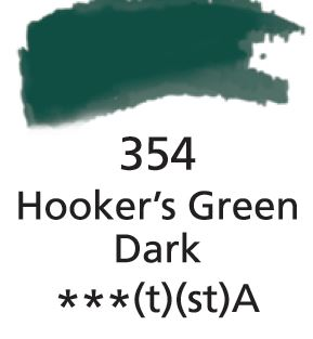 Aquarelles Extra-Fines Artist's<br />Hookers Green Dark (A)