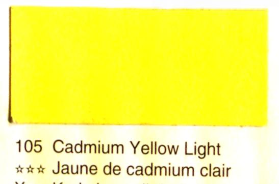 Aquarelle Espanoleto extra-fine tube 8 ml<br />JAUNE DE CADMIUM CLAIR