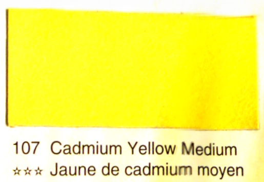 Aquarelle Espanoleto extra-fine tube 8 ml<br />JAUNE DE CADMIUM MOYEN