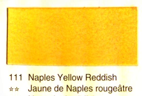 Aquarelle Espanoleto extra-fine tube 8 ml<br />JAUNE DE NAPLES ROUGEATRE