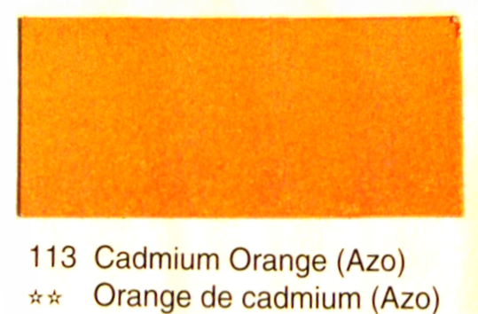 Aquarelle Espanoleto extra-fine tube 8 ml<br />ORANGE DIAZOIQUE