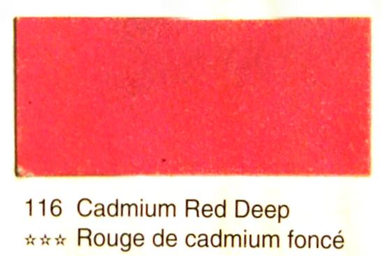 Aquarelle Espanoleto extra-fine tube 8 ml<br />ROUGE DE CADMIUM FONCE