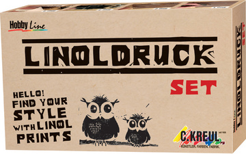 KREUL Kit de linogravure Hobby Line<br />kit