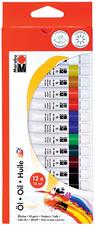 Marabu de peinture à l'huile, 12 ml, kit de 12 <br />kit