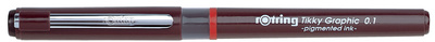 Rotring Tikky Graphic stylo feutre, largeur de tracé 0,1 mm<br />pce.