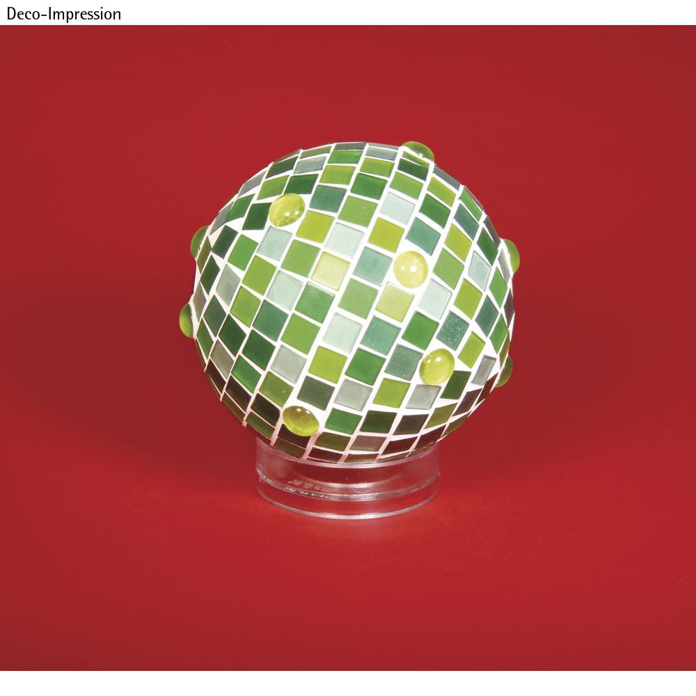 Socle pour boule en plastique,<br /> 6 cm ø