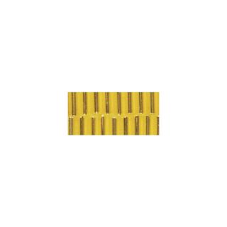 Chevilles en verre. 7/2 mm jaune