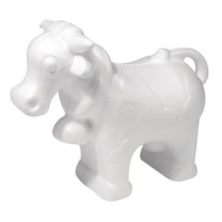 Vache en polystyrene 13x16 cm