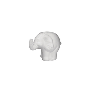 Elephant en polystyrene 11 cm