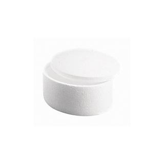 Boîte en polystyrene ronde 2 parties 150x90 mm