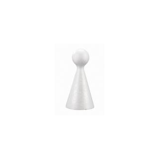 Cône figurine en polystyrene 10 cm