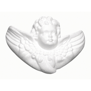 Angelot en polystyrene 12,5 cm
