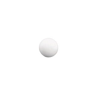 Boules en ouate. blanches 30 mm ø. sct.-LS 15 pces