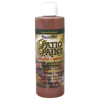 Acrylique Patio Paint 236 ml terre rouge