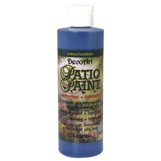 Acrylique Patio Paint 236 ml bleu azur