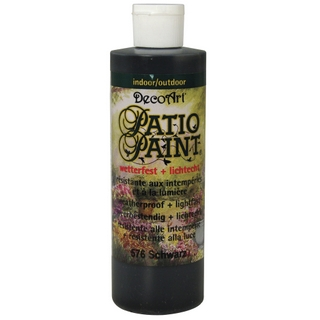 Acrylique Patio Paint 236 ml noir