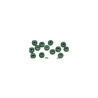 Perles en bois, polies, 8 mm ø, rondes vert mai