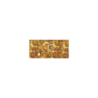 Rocailles. 2 mm ø. avec garniture argent or