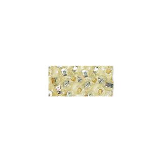 Rocailles. 2 mm ø. avec garniture argent argent