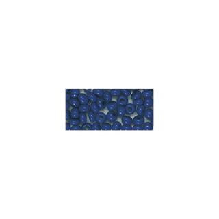 Rocailles. 2 mm ø. opaques bleu fonce