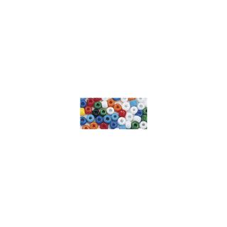 Rocailles. 2 mm ø. opaques assorties