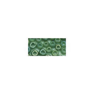 Rocailles. 2 mm ø. opaques lustre vert