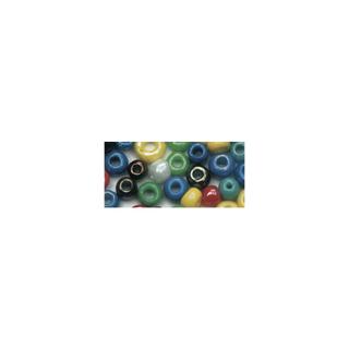 Rocailles. 2 mm ø. opaques lustre assorties