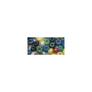 Rocailles. 2.6 mm ø. opaques lustre assorties