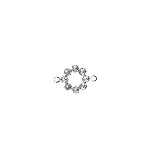 Accessoires bijoux Swarovski Couronne,2 oeuillets,15 mm aurore boreale