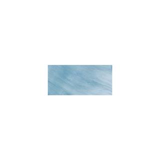 Boutons nacre, Goutte 15 mm, 1 trou, boîte 30 pces bleu azur