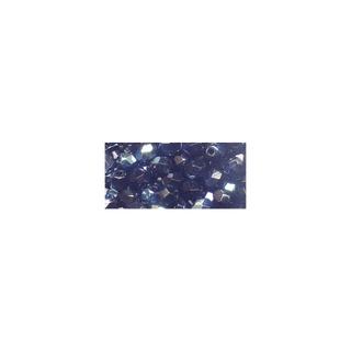 Perle facettee en verre, 4 mm ø irisée onyx