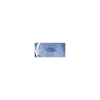 Pierres strass en plastique, 5 mm ø, boîte 60 pces aigue-marine