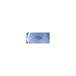 Pierres strass en plastique, 6 mm ø, boîte 50 pces aigue-marine