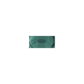 Pierres strass en plastique, 6 mm ø, boîte 50 pces emeraude