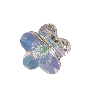 Swarovski Perle cristal Fleur 8 mm aurore boreale