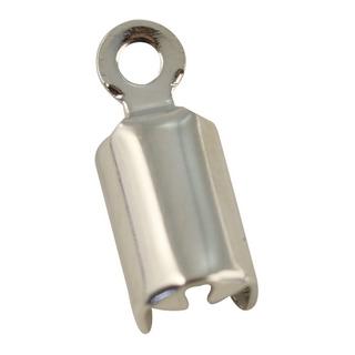 Attache pour cordons bijou, sct,-LS 4 pieces platine