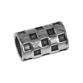 Element bijou en laiton-Dayton 1,5x0,9cm, ø 7mm, sct,-LS 2  argent